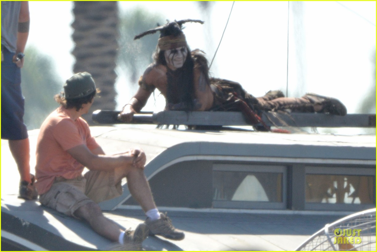 johnny depp lone ranger set 03