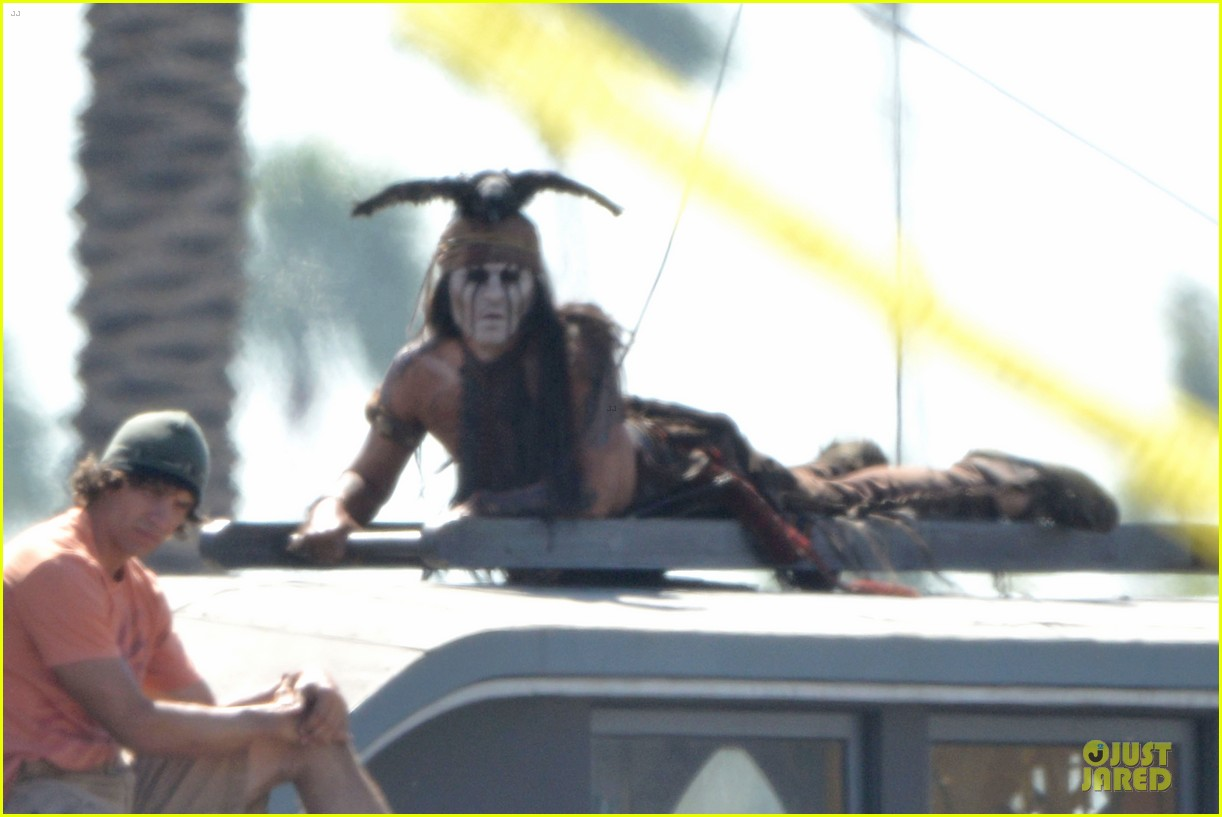 johnny depp lone ranger set 13