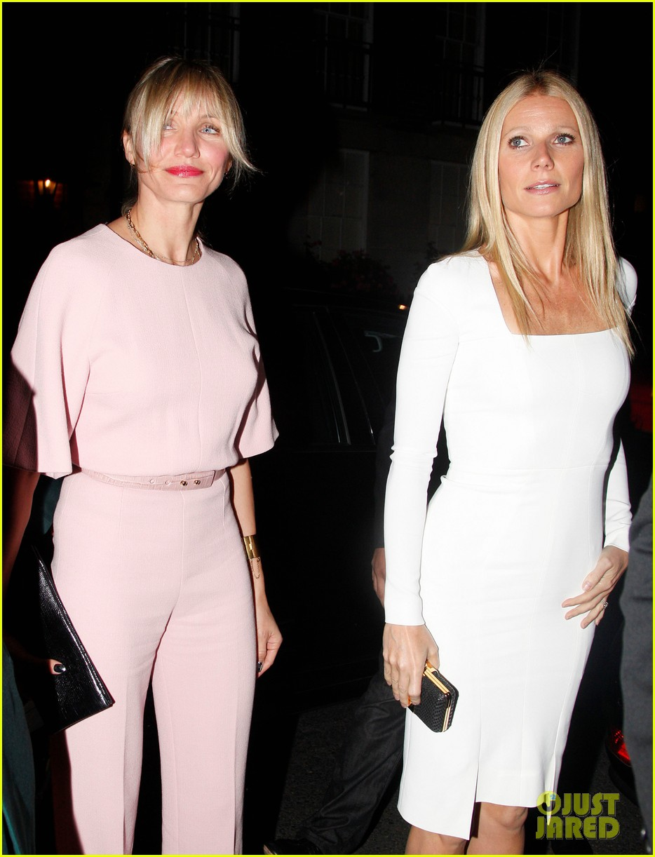 cameron diaz attends gwyneth paltrows obama fundraiser 02