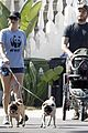 anna faris chris pratt strolling with baby jack 04