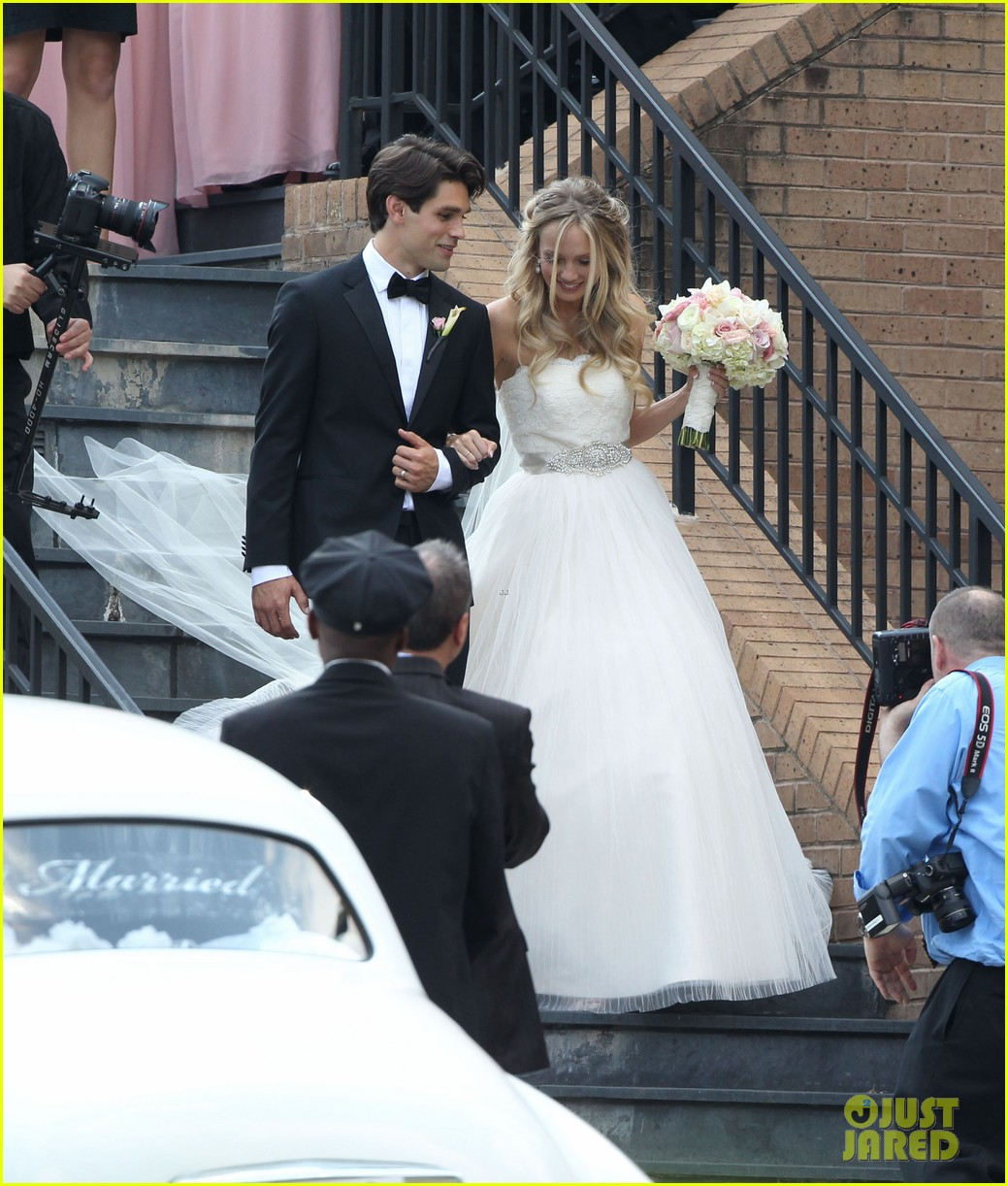 justin gaston weds melissa ordway first wedding pictures 06