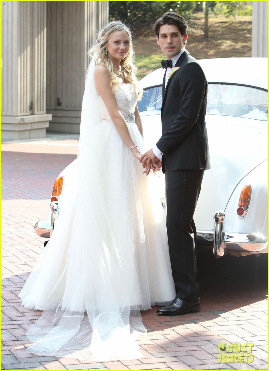justin gaston weds melissa ordway first wedding pictures 31
