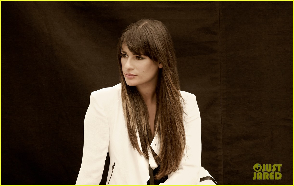 lea michele cory monteith glee faces of fox campaign 27