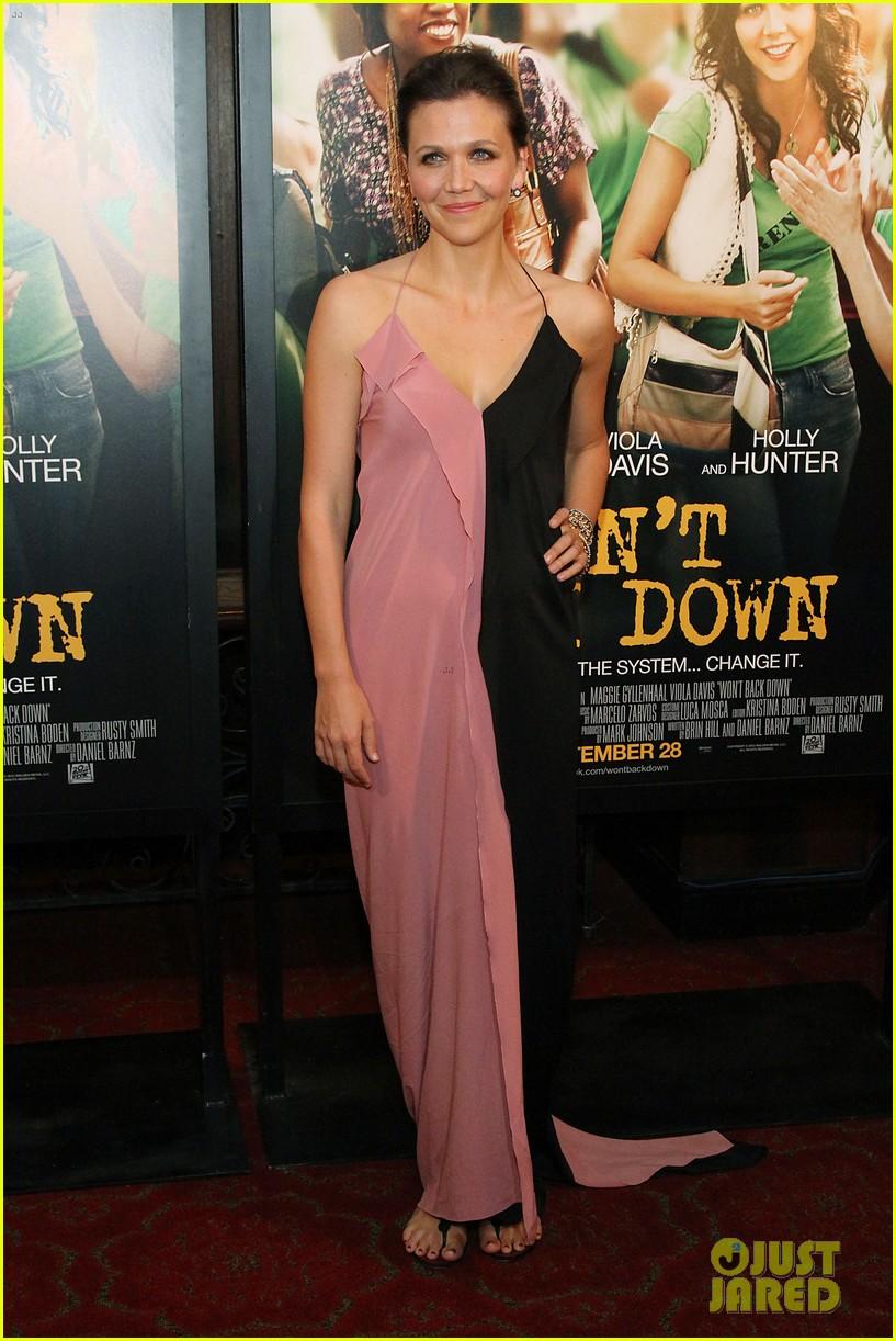 maggie gyllenhaal viola davis wont back down premiere 15