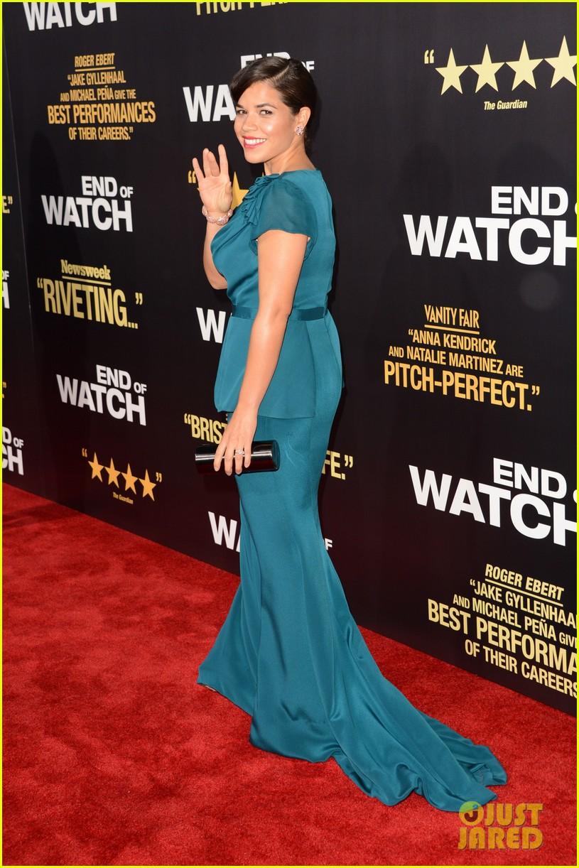 jake gyllenhaal anna kendrick end of watch premiere 19