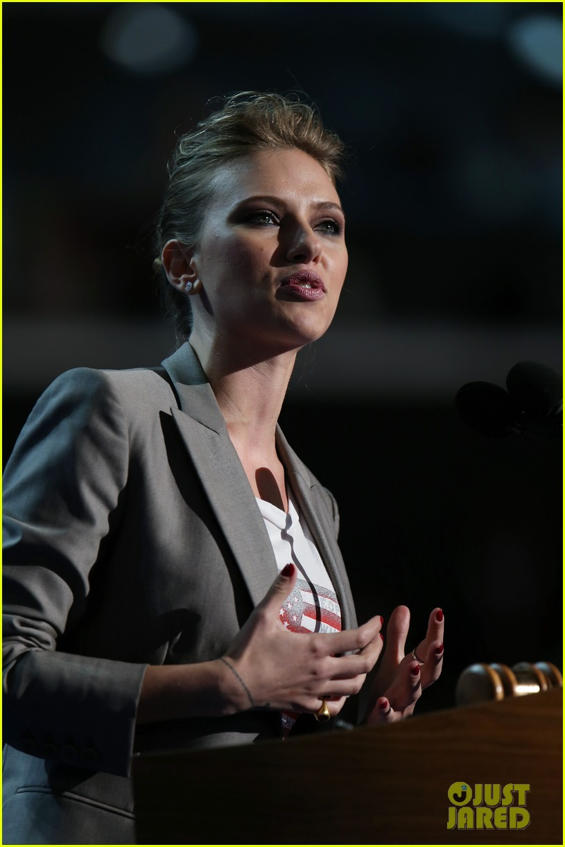scarlett johansson speech democratic national convention 22
