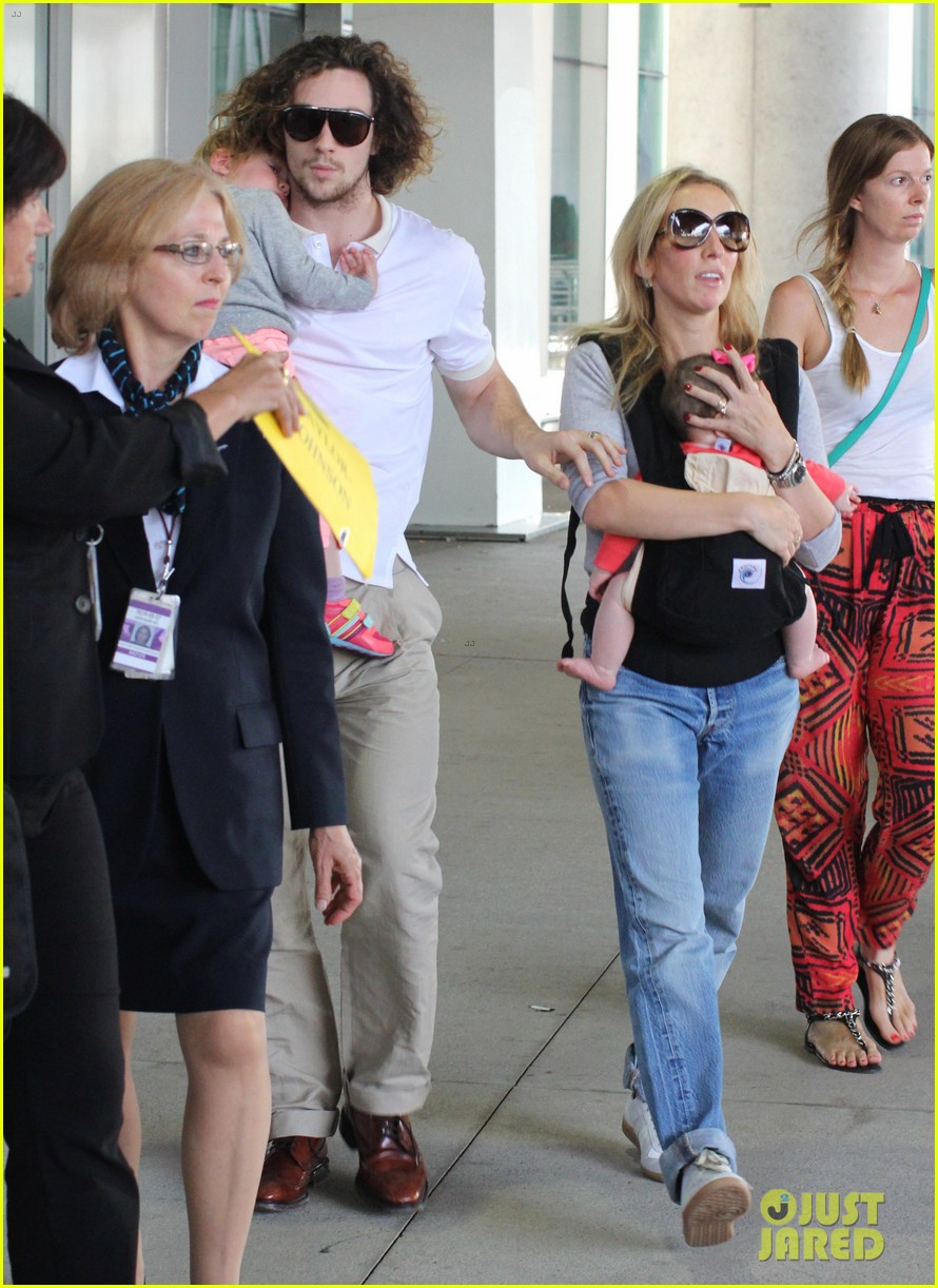 aaron taylor johnson airport with sam wylda rae romy hero 022714890