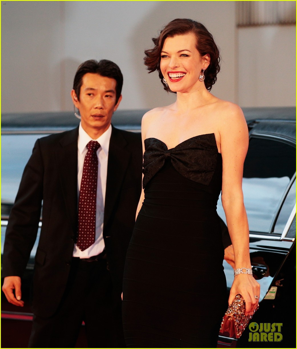 milla jovovich resident evil retribution japan premiere 17