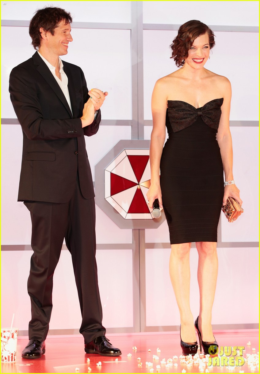 milla jovovich resident evil retribution japan premiere 242713425