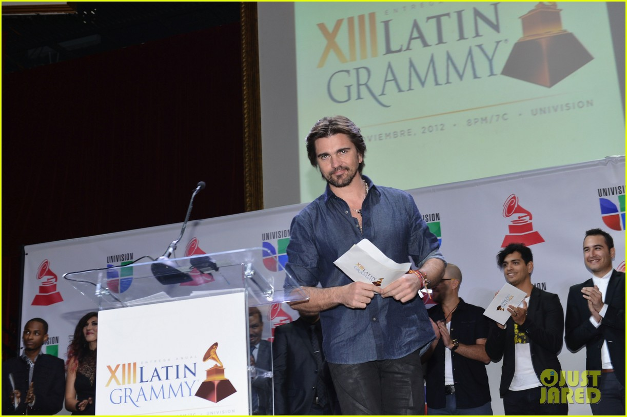 juanes latin grammys nominations announcement 13