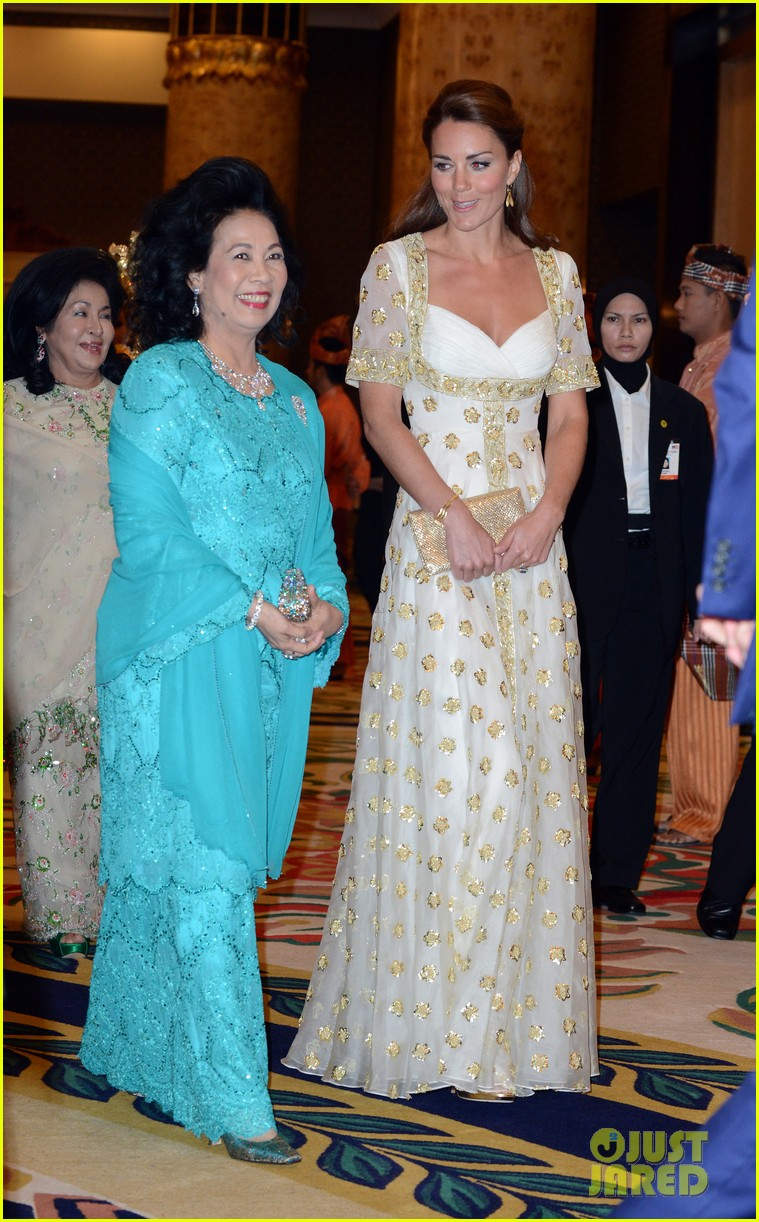 Prince William & Duchess Kate: Malaysia Official Dinner: Photo ...