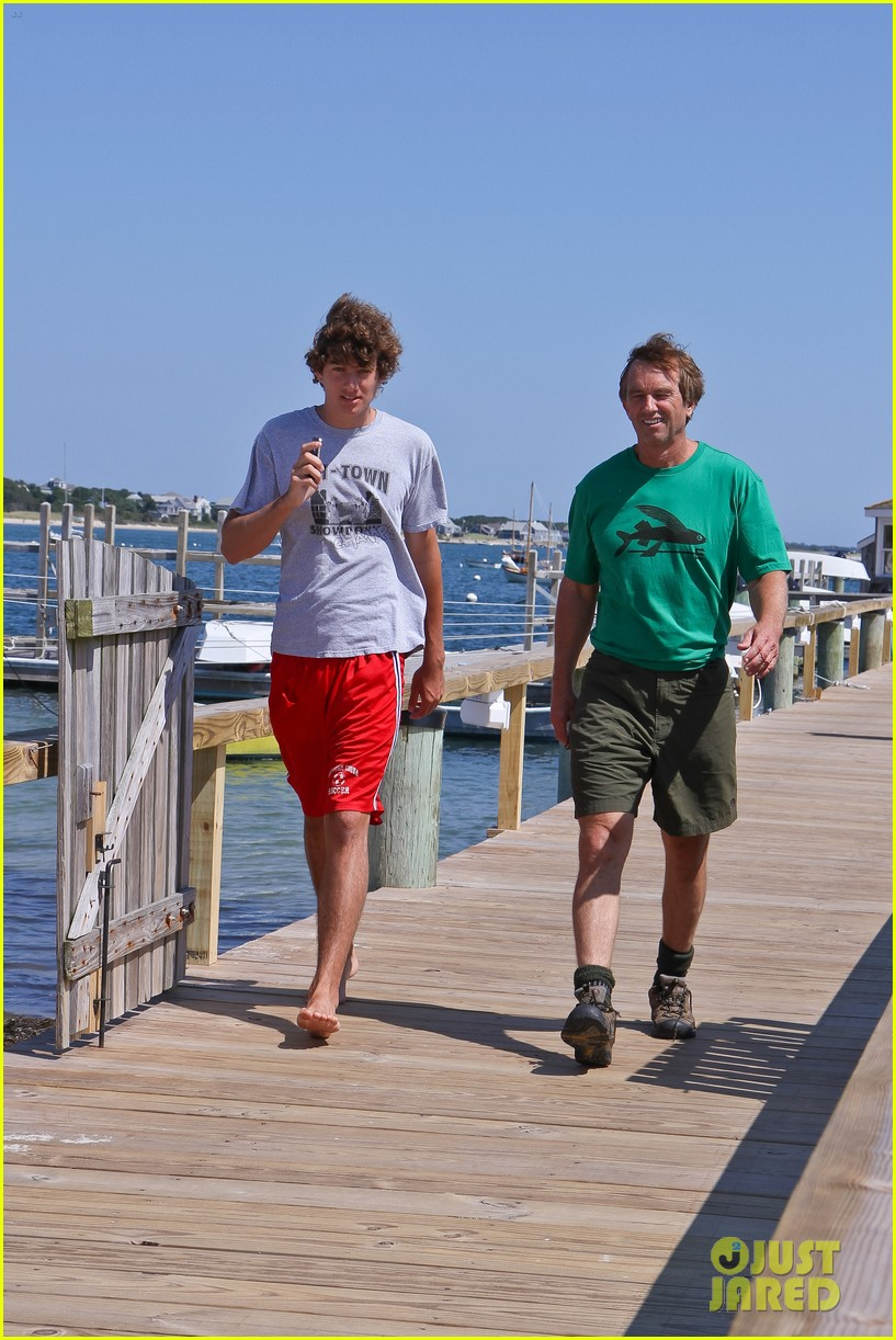 conor kennedy boating with family 05