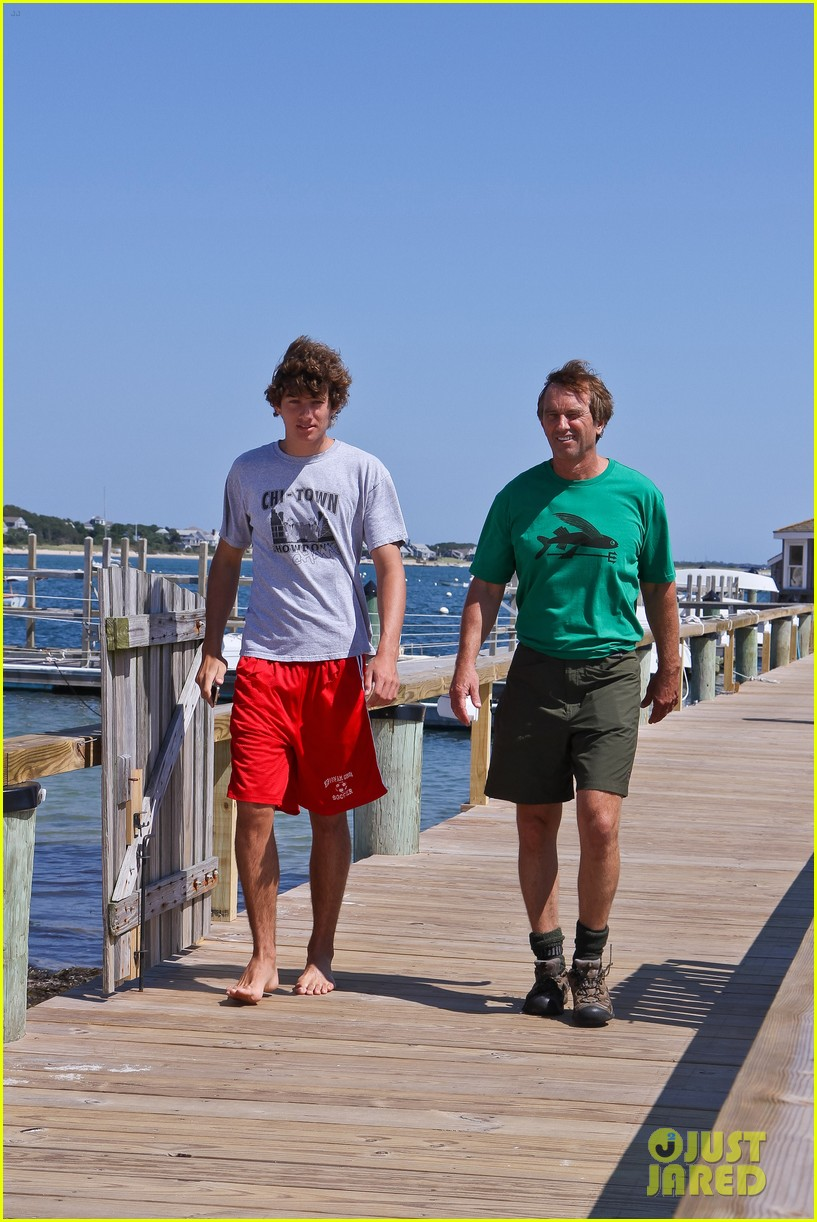 conor kennedy boating with family 06