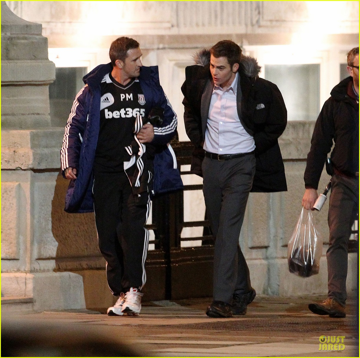 keira knightley chris pine jack ryan set 23