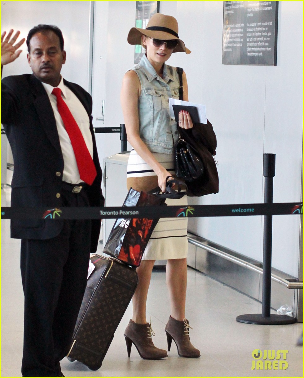 diane kruger leaves toronto 19