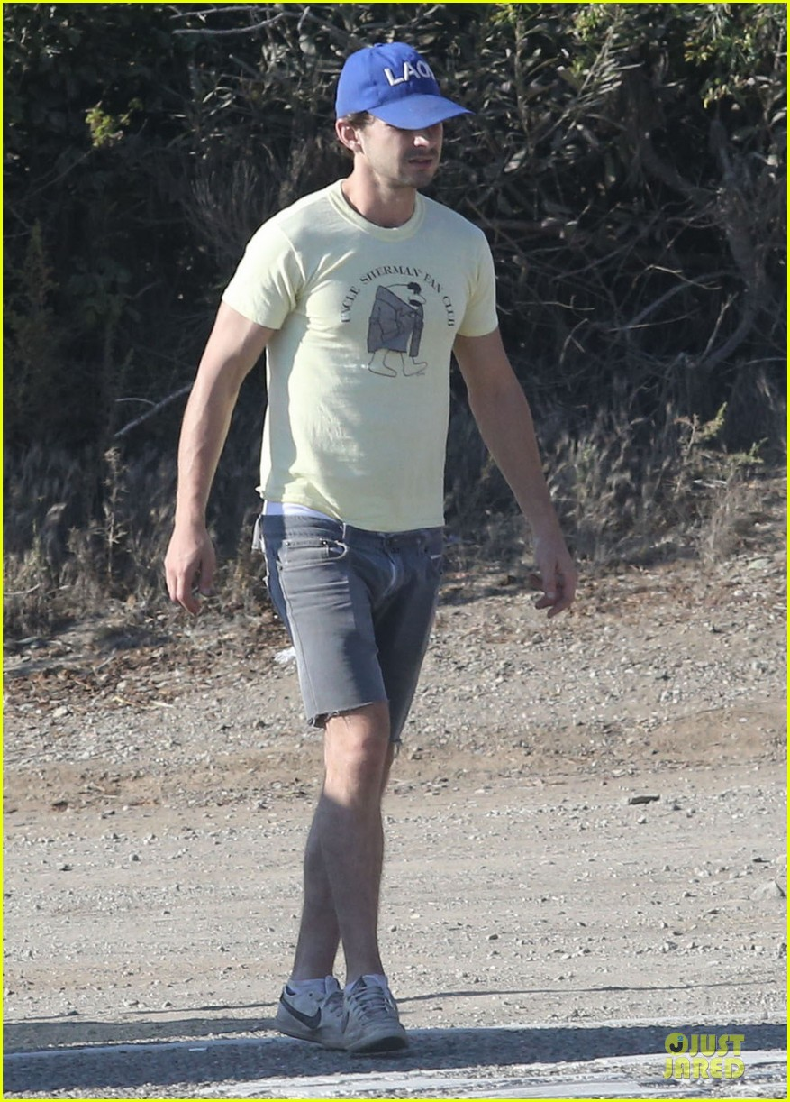 shia labeouf human gps in sherman oaks 08