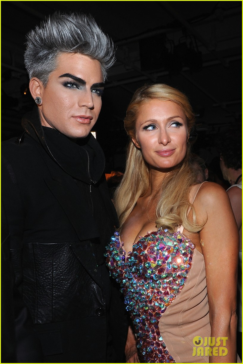 adam lambert on paris hilton shes not worth it 01
