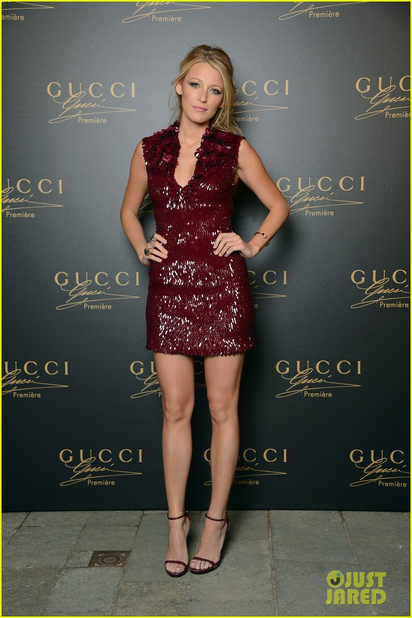blake lively gucci premiere launch with salma hayek 01