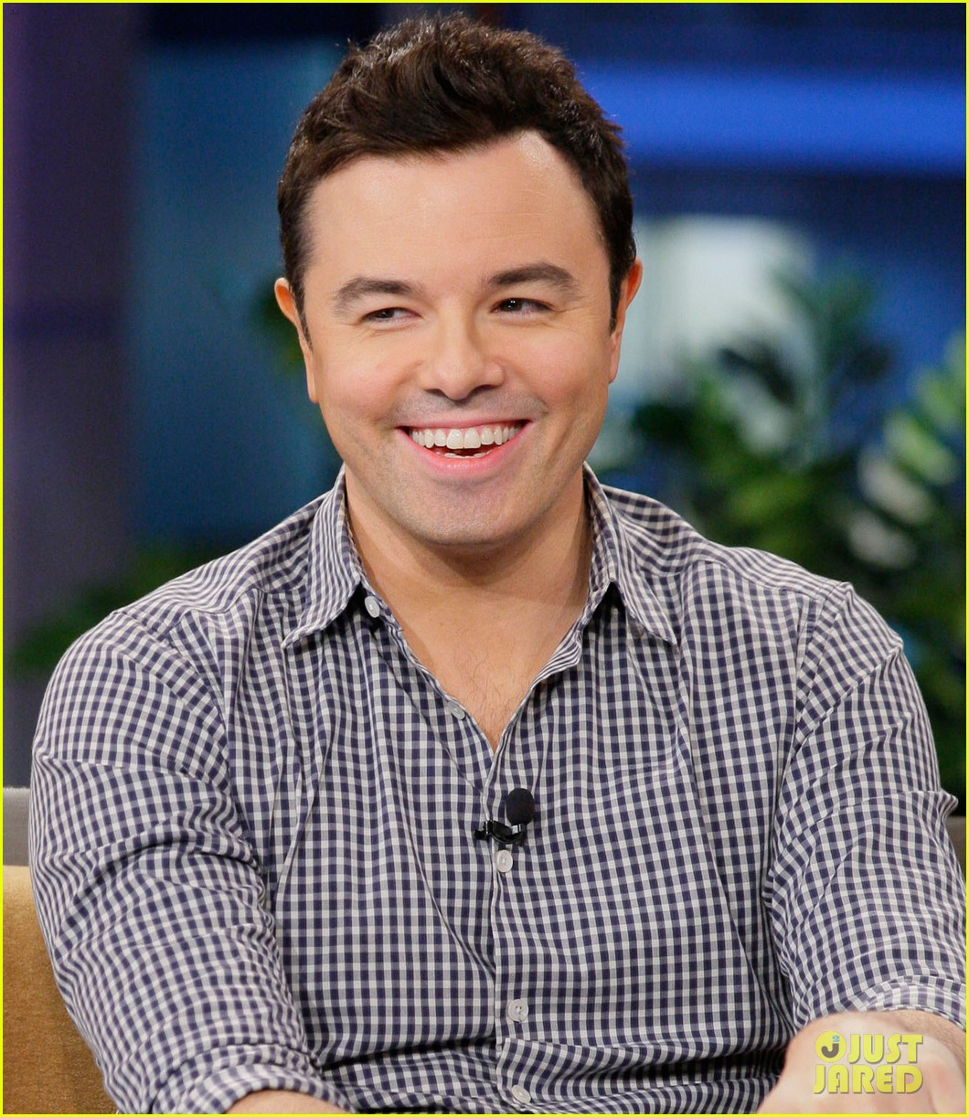 seth macfarlane tonight show with jay leno appearance 042728697