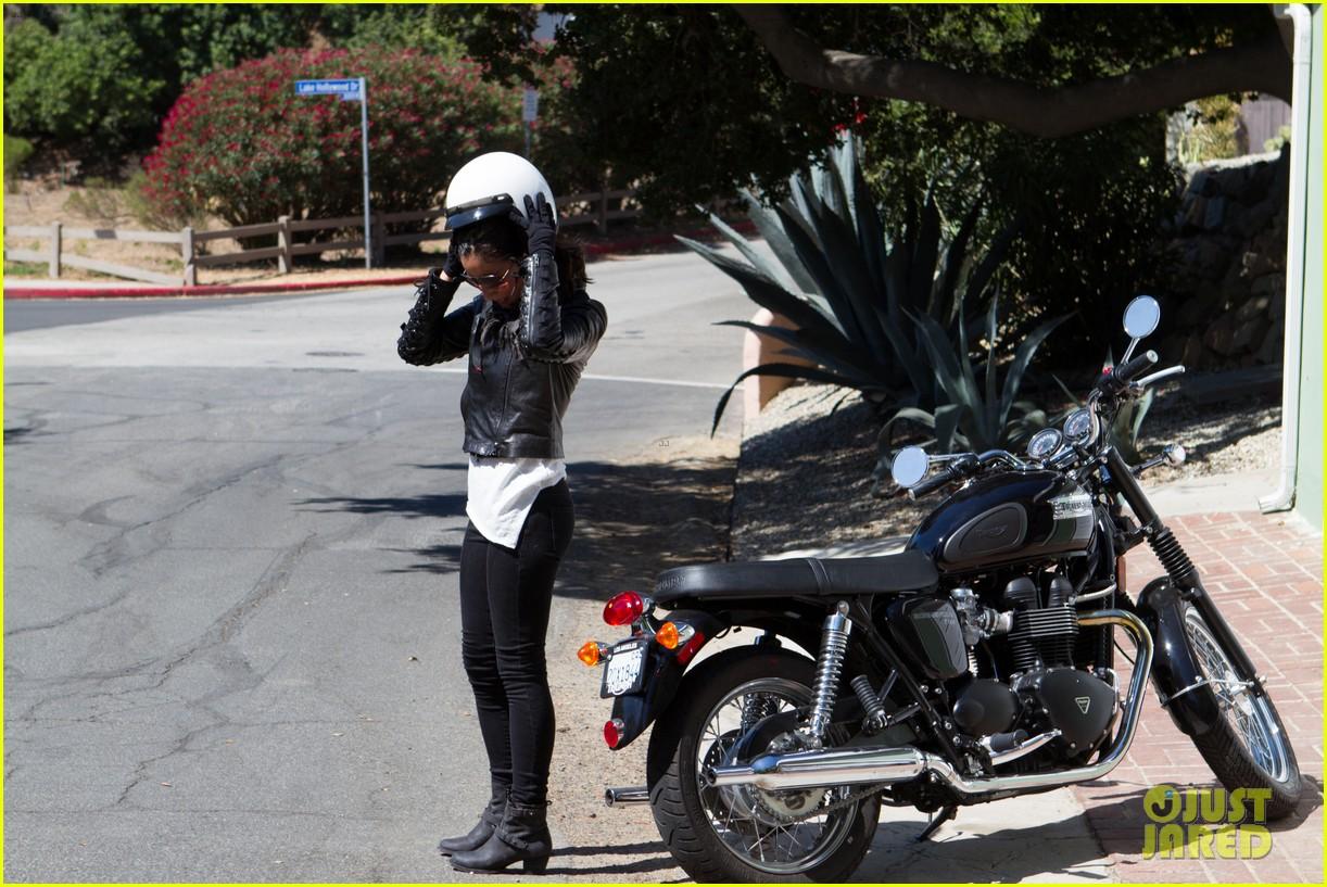 olivia munn biker babe 07
