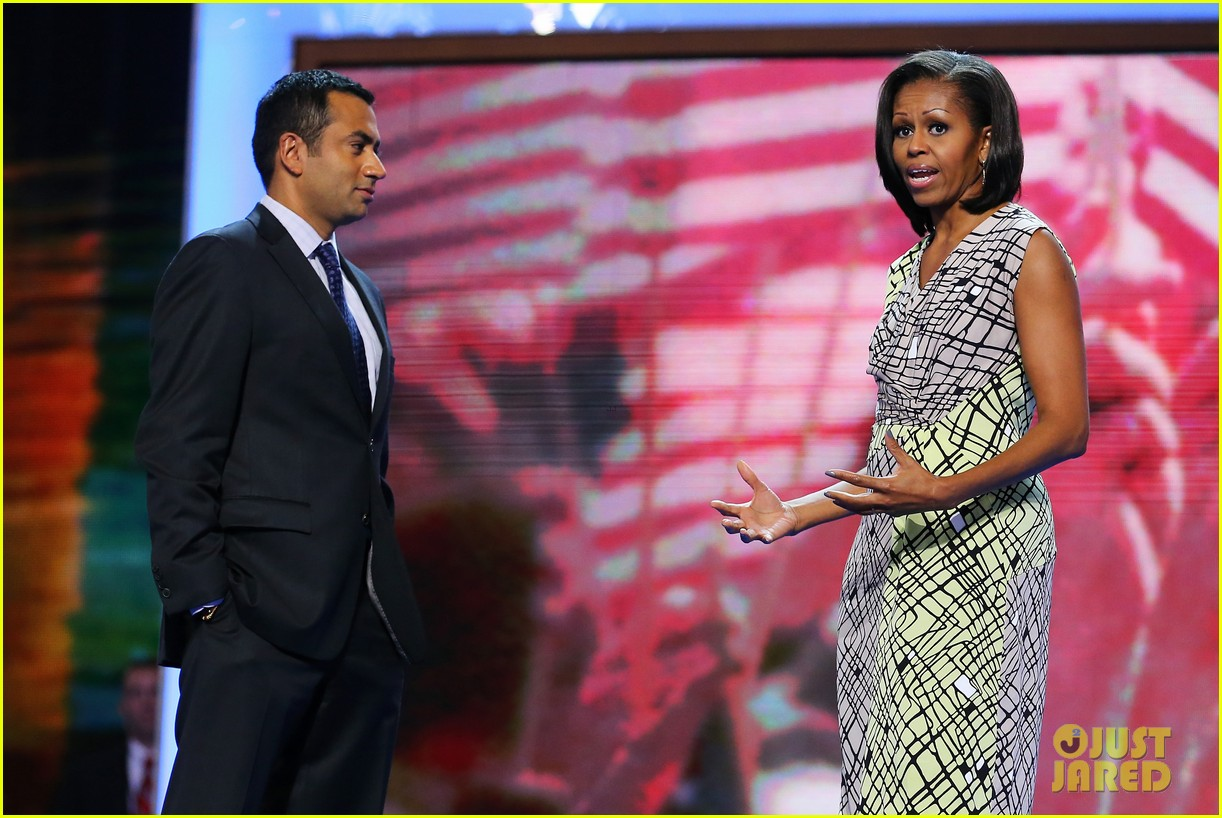 michelle obama preps democratic national convention in charlotte kal penn 042713543