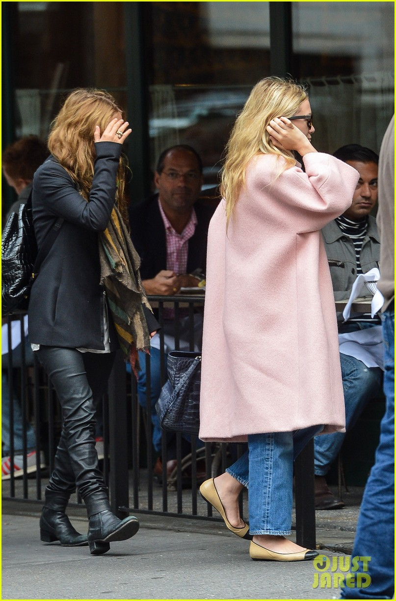 ashley mary kate olsen lunch with oliver sarkozy 05