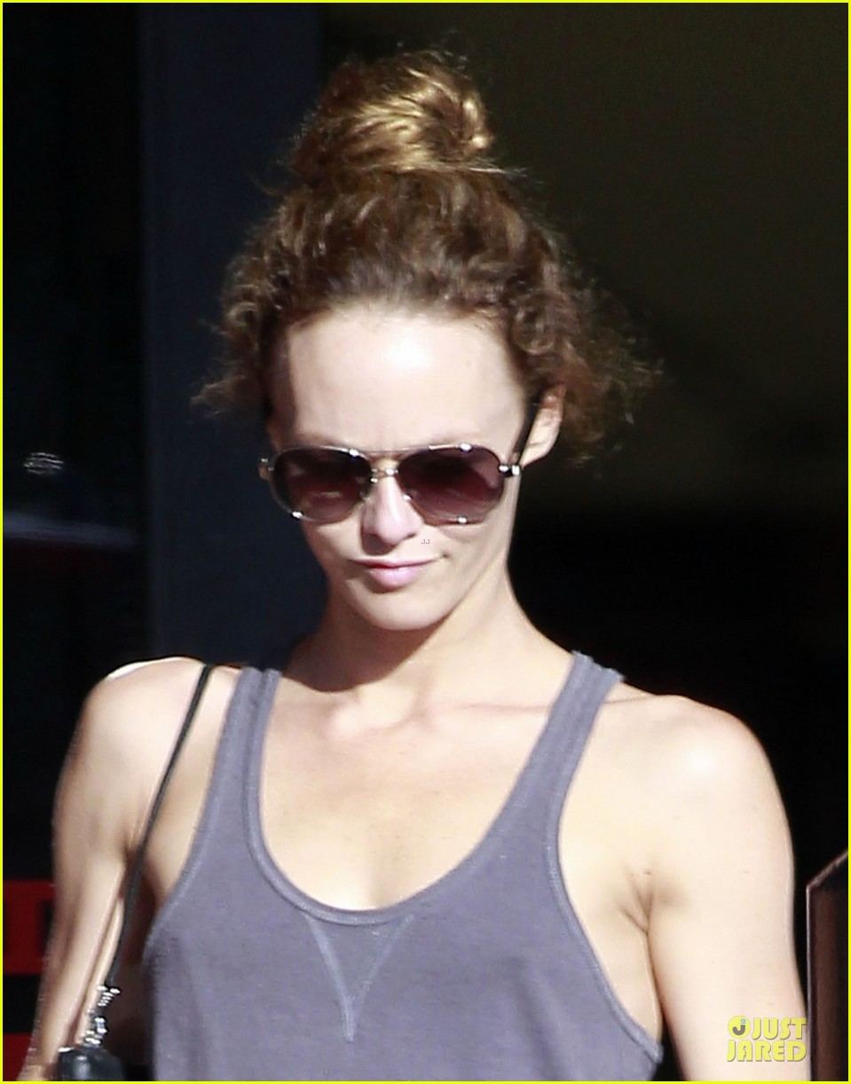 vanessa paradis office depot shopping dad 022714763