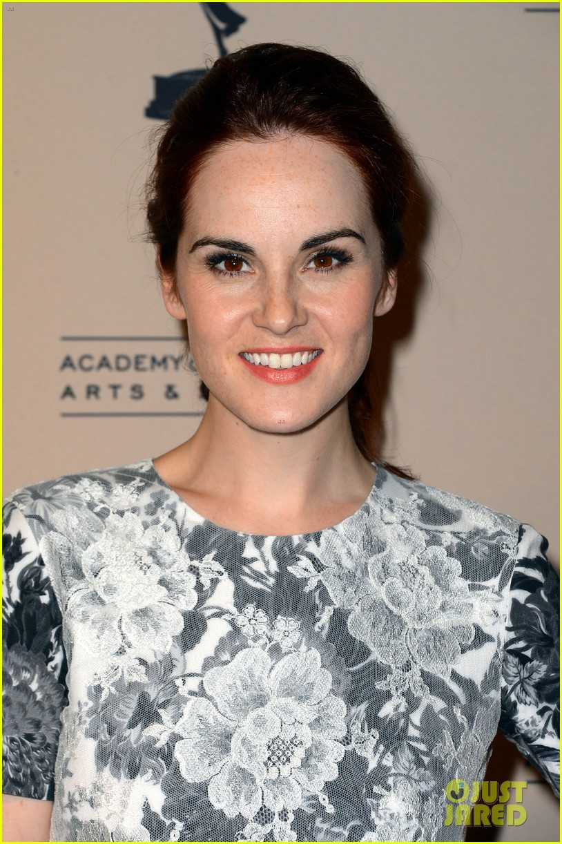 jessica pare michelle dockery atas emmy awards reception 11