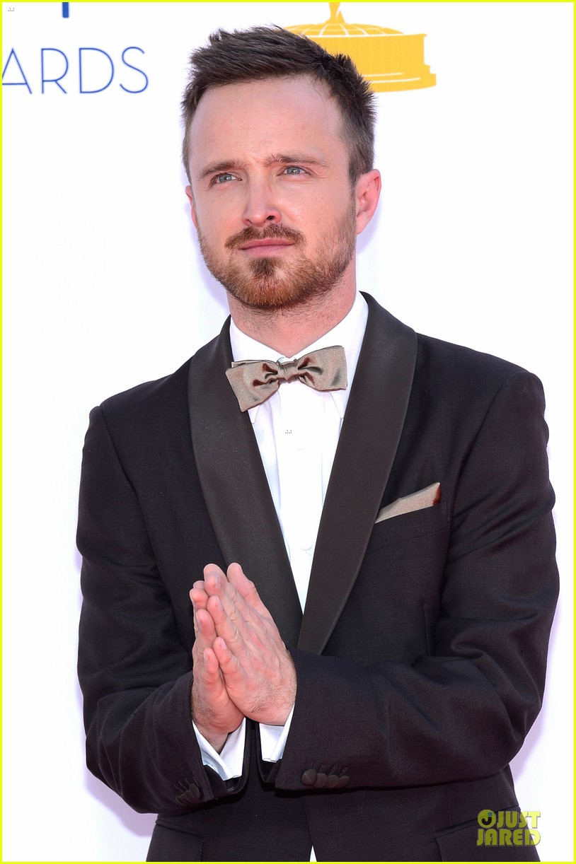 aaron paul lauren parsekian emmy awards 042727178