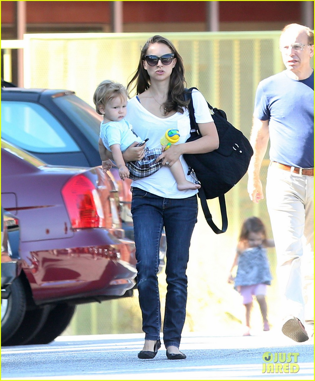 natalie portman quality time with aleph 20