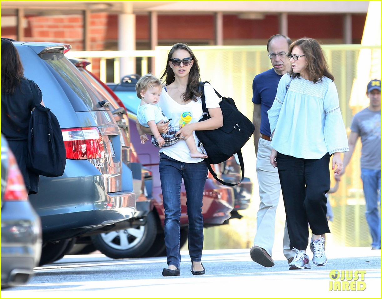 natalie portman quality time with aleph 23