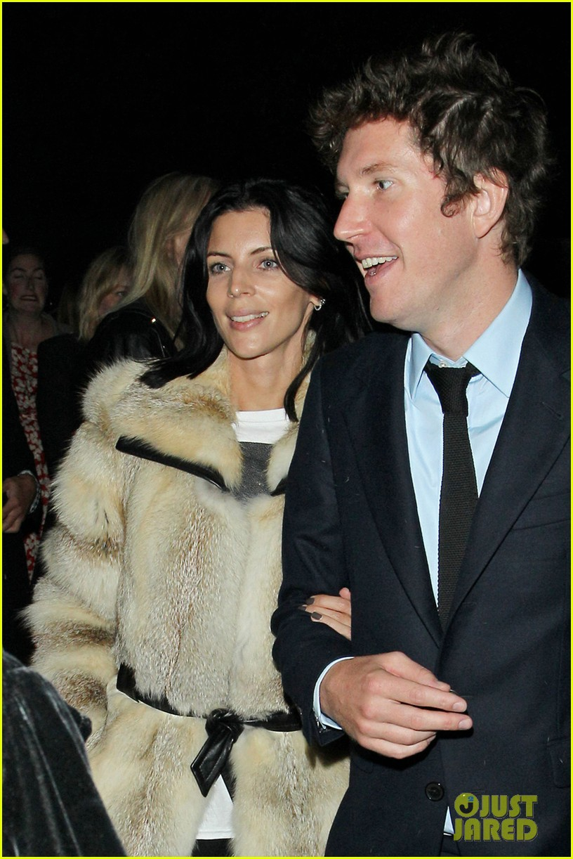 liberty ross serpentine gallery with mystery man 02