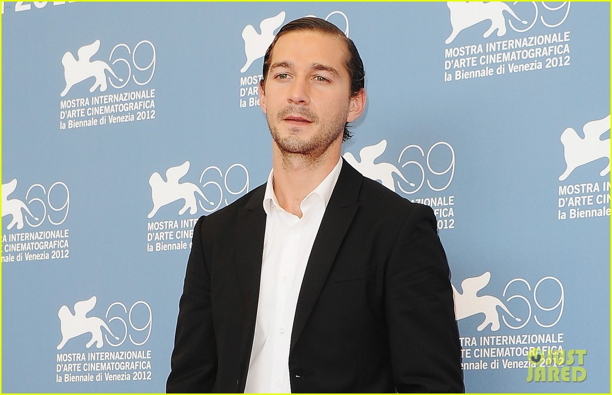 shia labeouf company you keep venice photo call 03