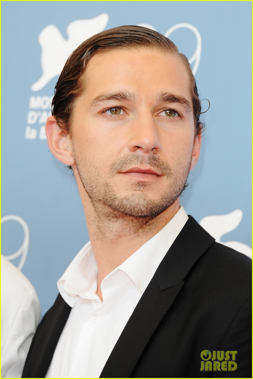 shia labeouf company you keep venice photo call 04