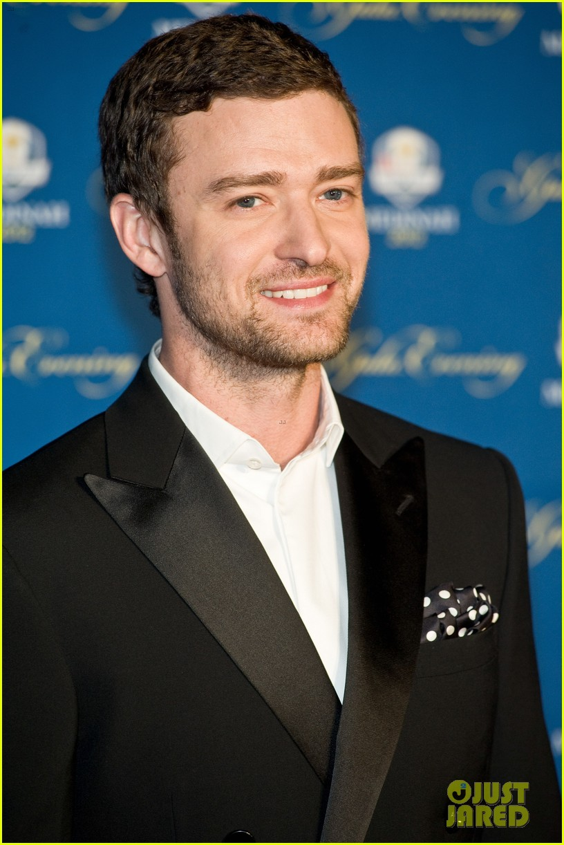 justin timberlake ryder cup gala with tiger woods 032729094