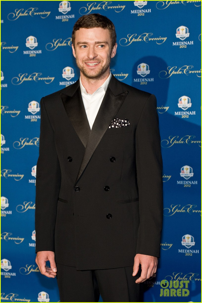justin timberlake ryder cup gala with tiger woods 07