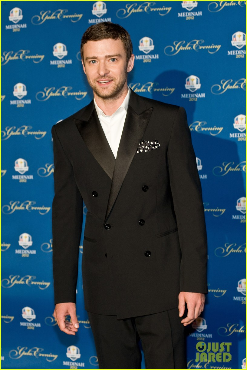 justin timberlake ryder cup gala with tiger woods 11
