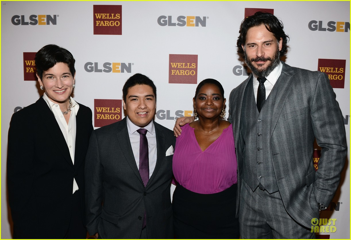 amy adams joe manganiello glsen awards 11