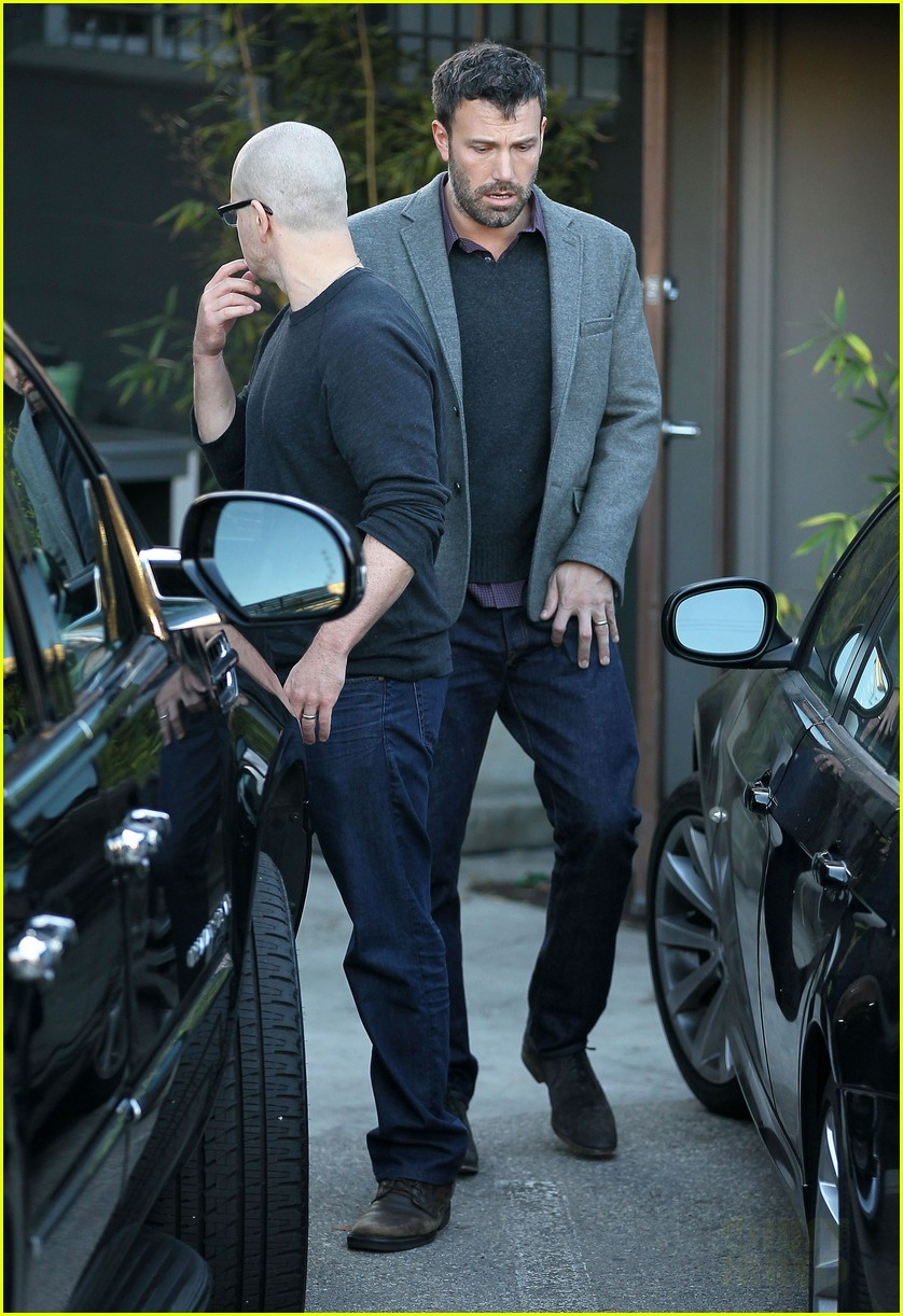 ben affleck matt damon business meeting buddies 122744495