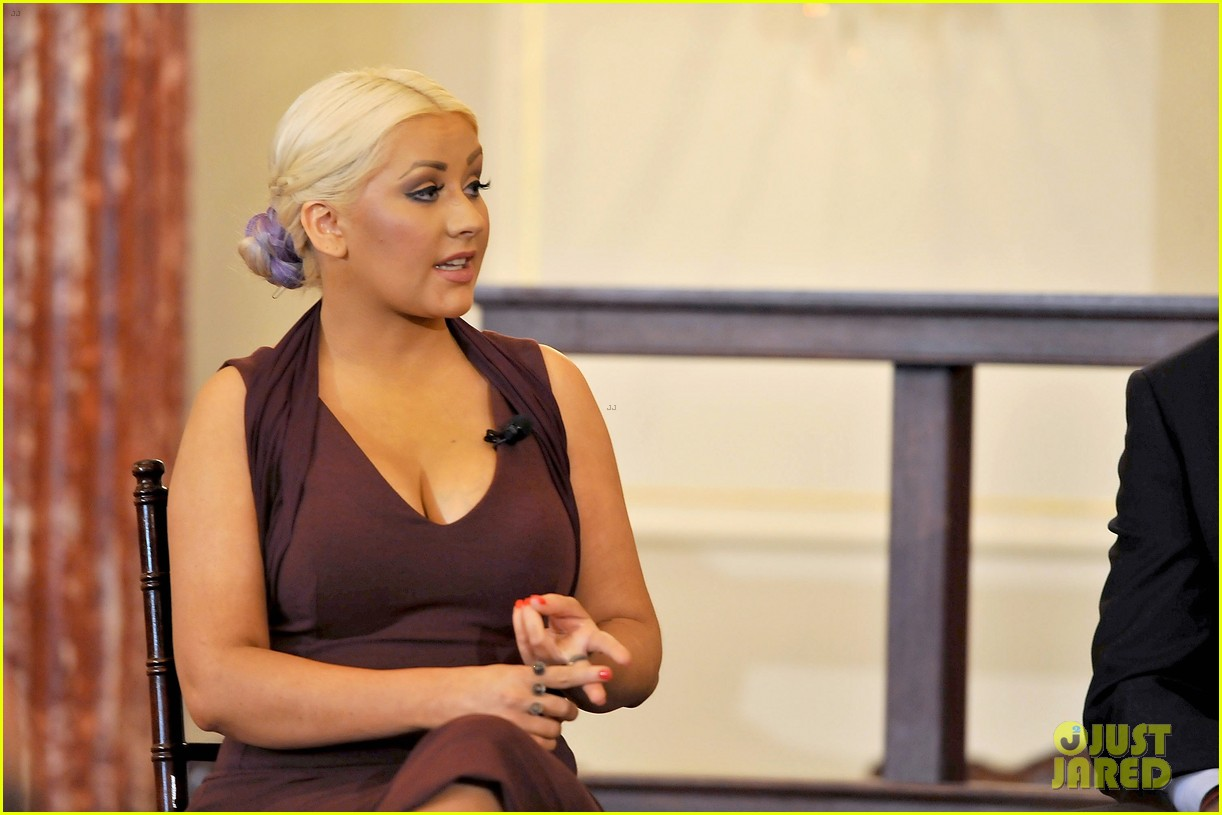 christina aguilera george mcgovern award ceremony 11