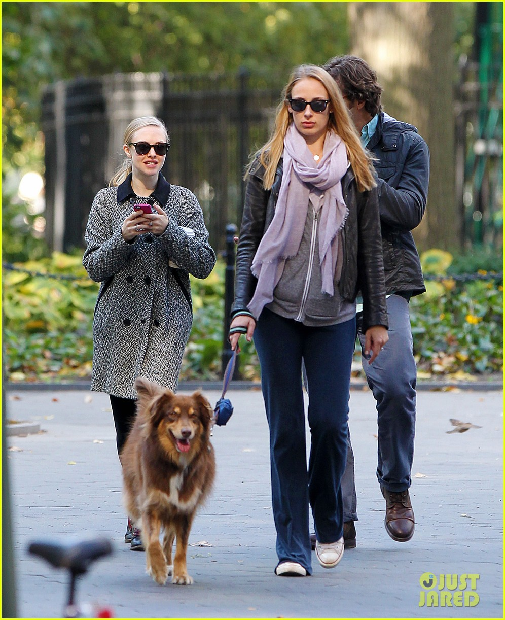 amanda seyfried funny faces in nyc 112740690