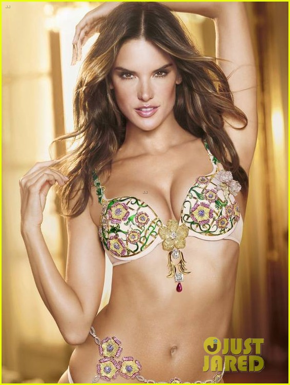 alessandra ambrosio models victorias secret fantasy bra 03