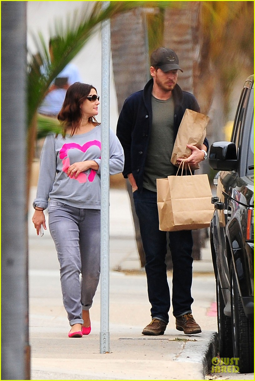 drew barrymore will kopelman post baby lunch 352742436