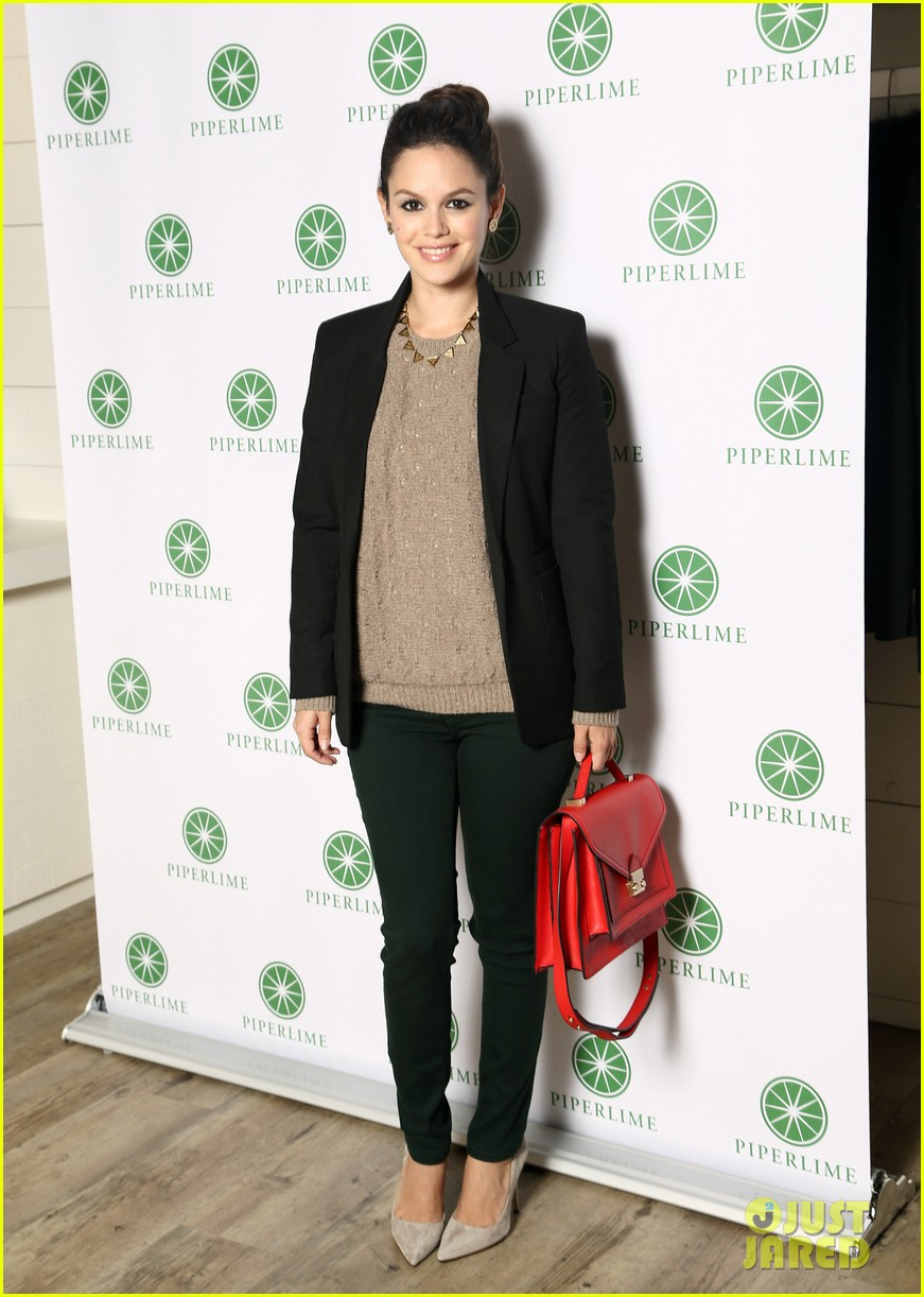 rachel bilson piperlime bff fashion event 01