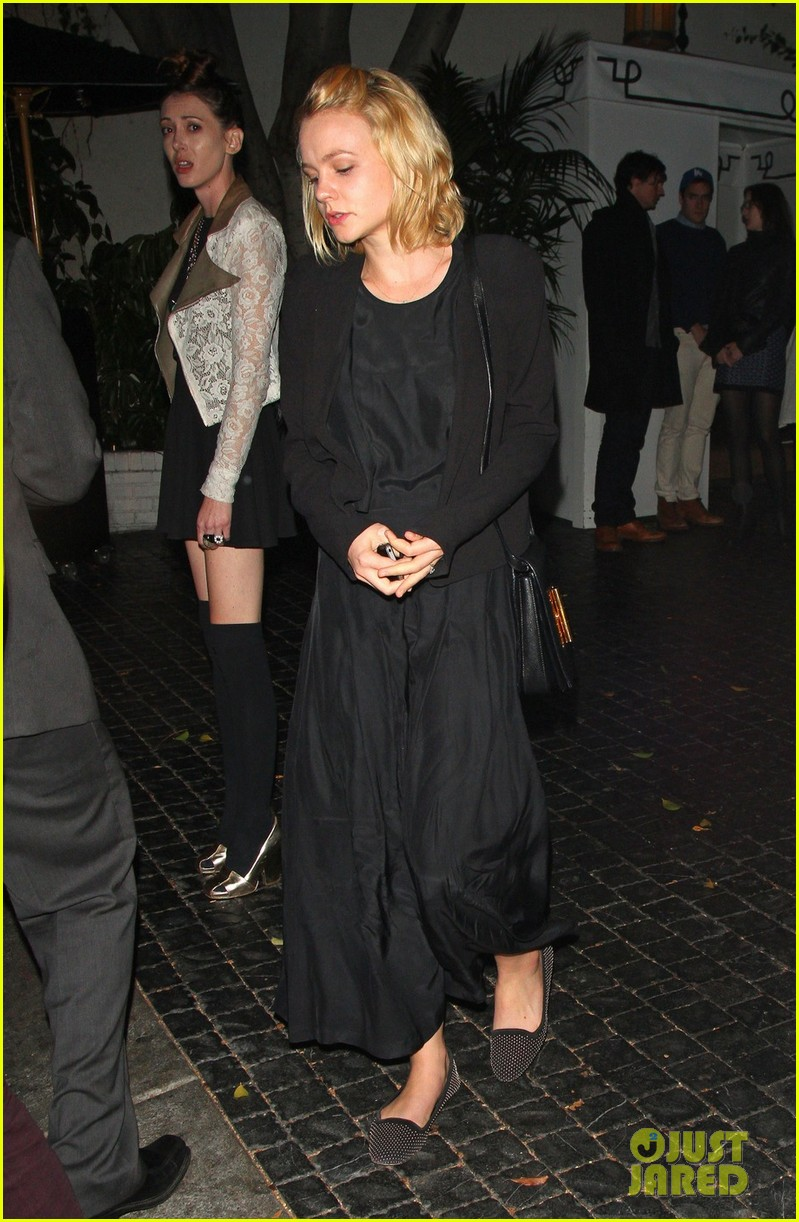 carey mulligan chateau marmont night out 06