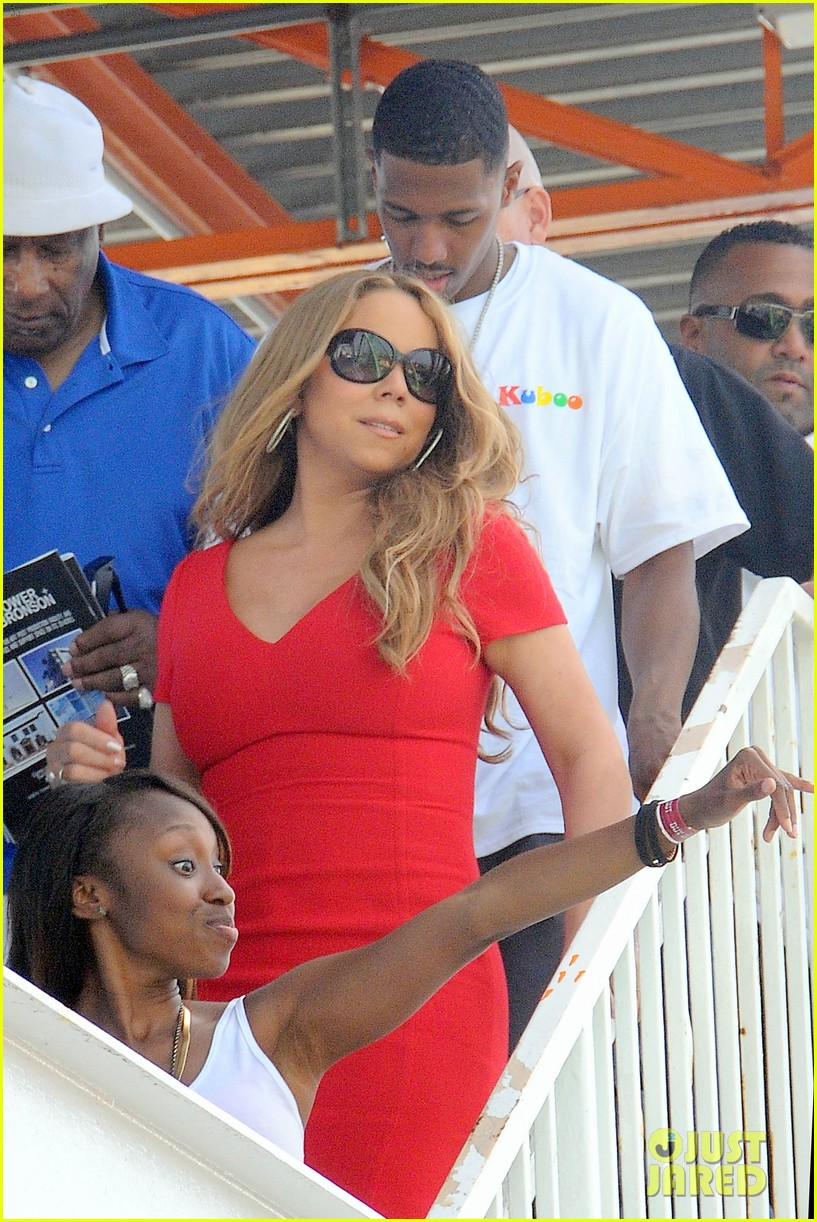 mariah carey nick cannon family day with dem babies 04