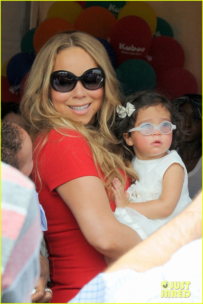 mariah carey nick cannon family day with dem babies 11