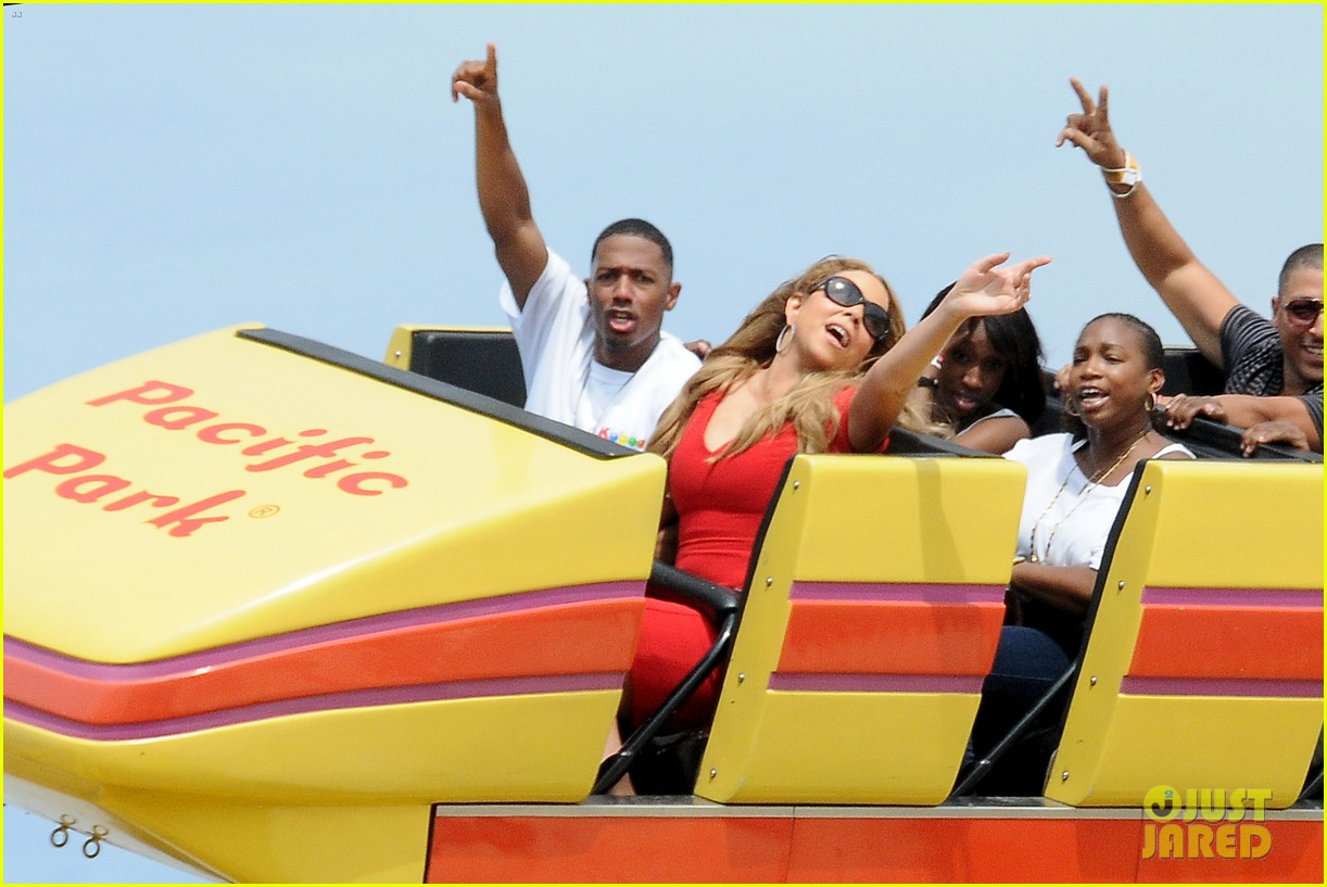 mariah carey nick cannon family day with dem babies 16