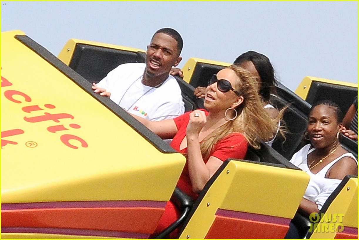 mariah carey nick cannon family day with dem babies 182734172