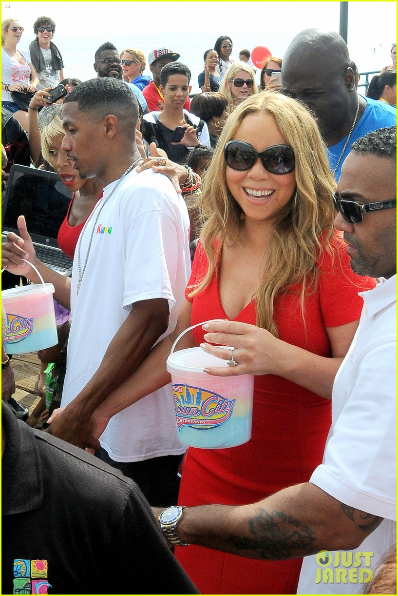 mariah carey nick cannon family day with dem babies 22